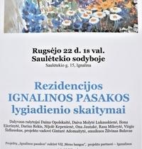 Residency IGNALINA FAIRY TALES equinox readings