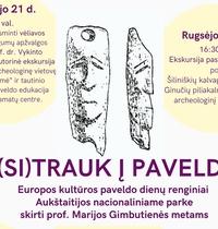 """TOWARDS HERITAGE"" European Heritage Days events in Aukštaitija National Park"