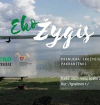 Premiere: Öko-Wanderung am Ufer des Baluošas-Sees / Bezirk Ignalina /