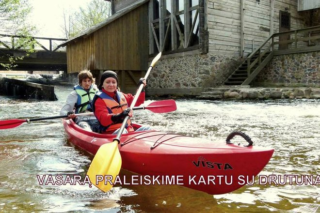 """""""Drutunai kayaks"""""""