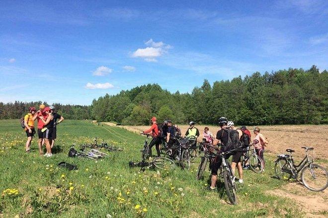 25 km Fahrradrundweg im Nationalpark Aukštaitija