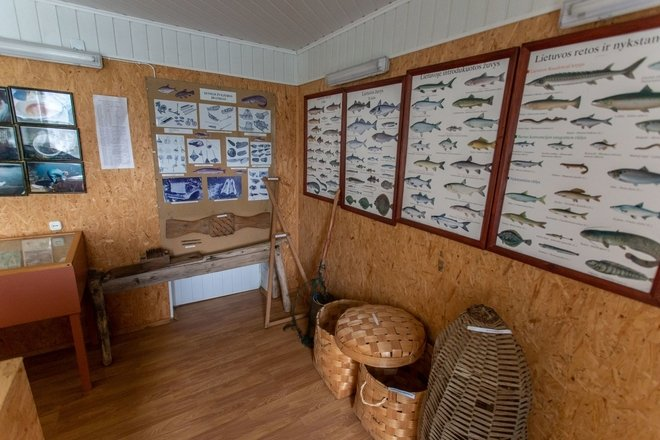 Museum Exposition of Fishery in Strigailiškis