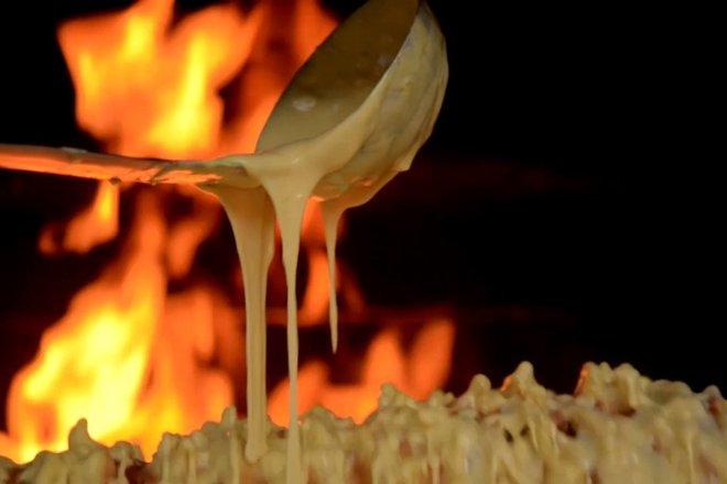 """Baking of """"Šakotis"""""""