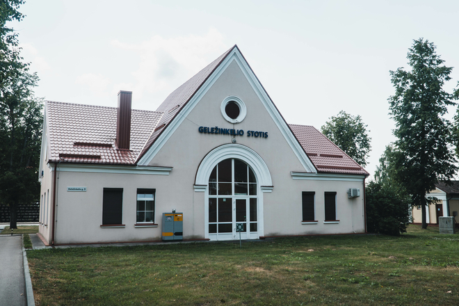 Bahnhof Dūkštas