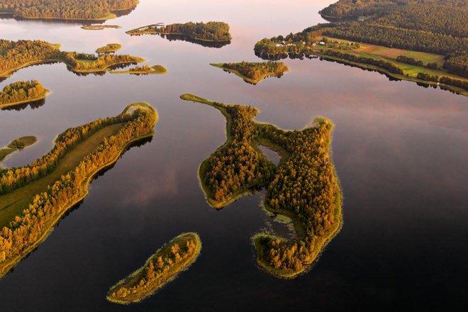 Baluošas long-streched island