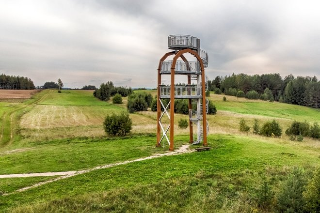 Didžiasalis (Sirvėta) Observation Tower