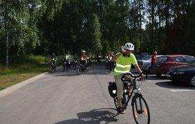 """D5 велосипедный маршрут """"Два дня в национальном парке Аукштайтии"""""""