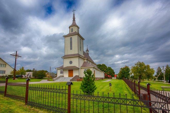 Церковь Св. Станислава Костки в Дукштасе