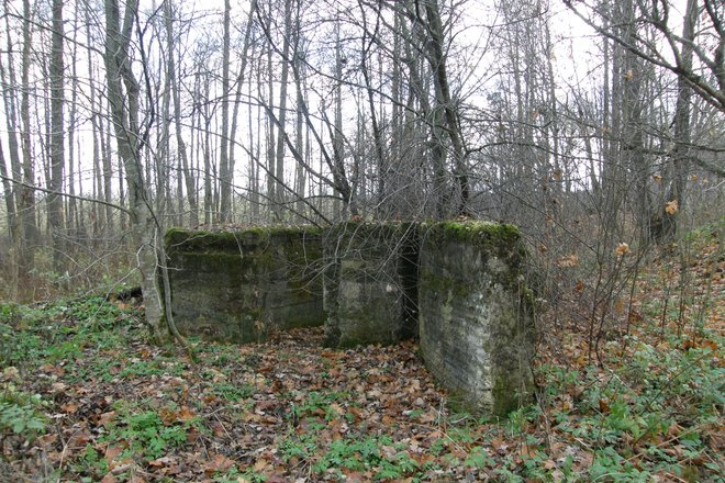 Оборонительные укрепления первой мировой войны