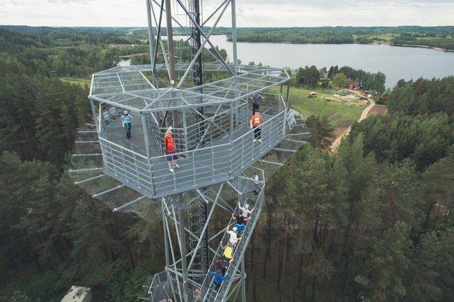 Šiliniškės (Ginučiai) observation tower