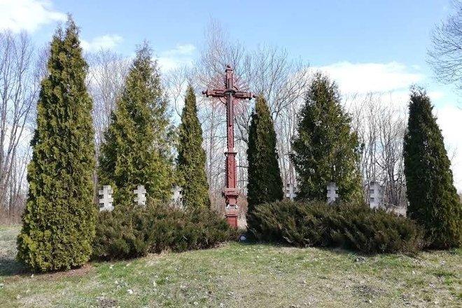 Памятник памяти о трагедии деревни Йaцюнай