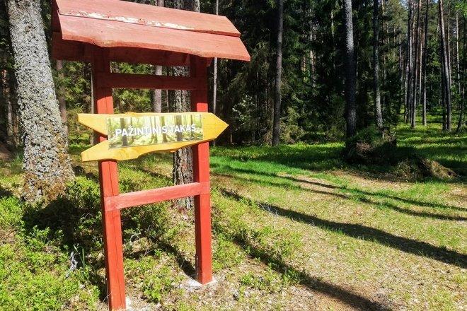 Cognitive trail in Šakarva forest