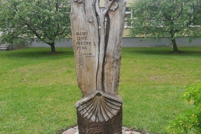 Sculpture by Č.Kudaba