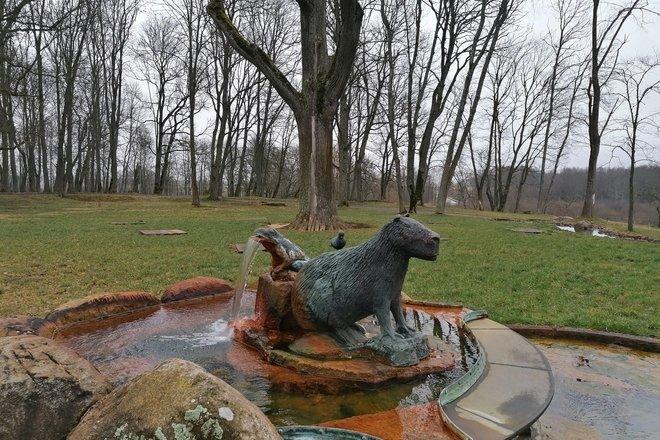 Fountain of Paliesius Manor