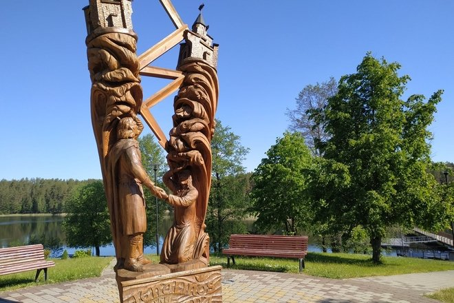 Monument to Ignas and Lina