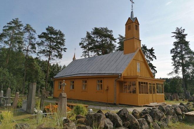 Костёл Мученицы св. Девы Марии в Геджюнеляй