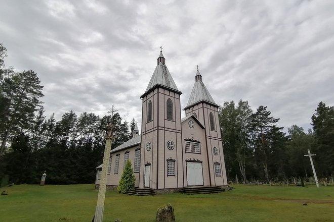 Костёл Святого Иоанна Крестителя в Шведришке