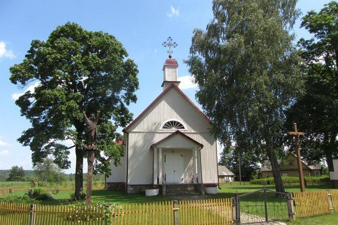 Костёл св. Иоанна Крестителя в Качергишке