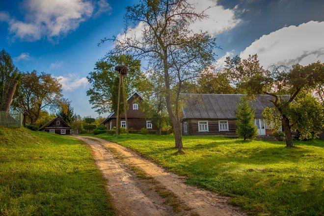 Древняя Катенитишкская кубистская деревня