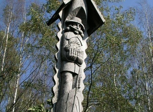 Sculptural trail