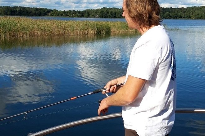 Guided recreational fishing