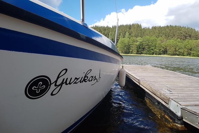 "Tour on the yacht ""Guzikas"""