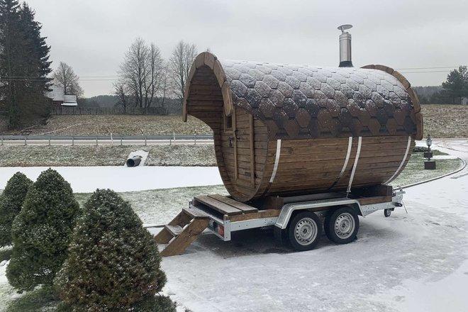 Mobile sauna rental