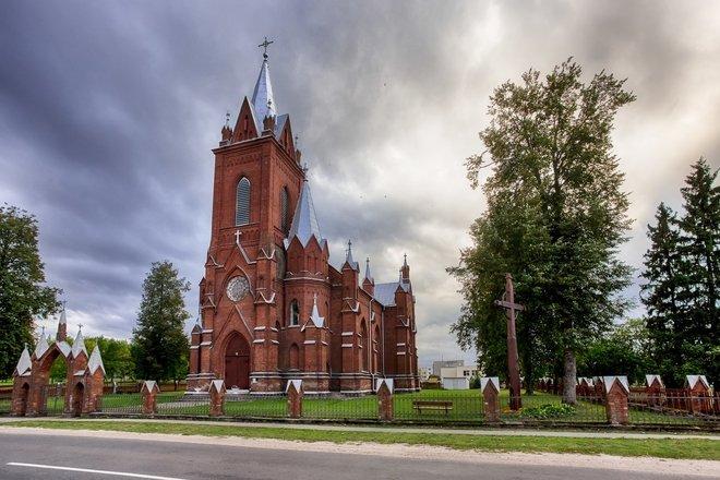 Костёл посещения Св. Девы Марии в Видишкес