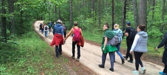 Eco hiking