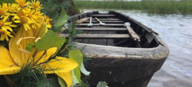 The boathouse of Palūšė