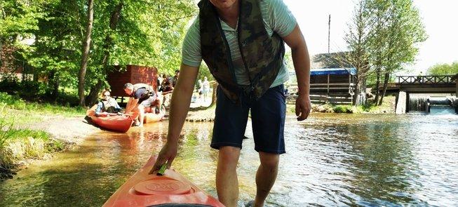 """Super kayak"""